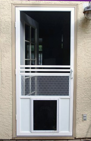 Screen Door For Dogs Photos Wall And Door Tinfishclematis
