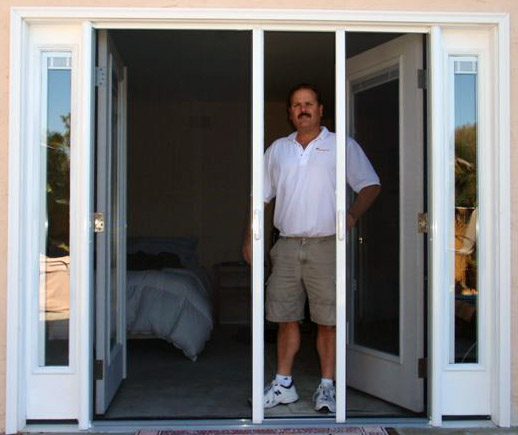 The screen guys mobile screening for window and door for What is the best retractable screen door